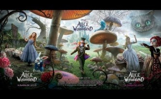 Alice in Wonderland previs demo