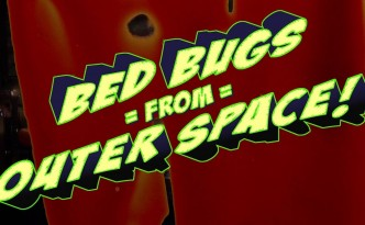 """Bed Bugs from Outer Space!"" - film trailer"